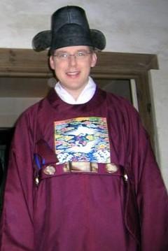 adult Jeff on his wedding day, 2004