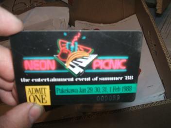 I'm Bob Geldof - Welcome to the Neon Picnic
