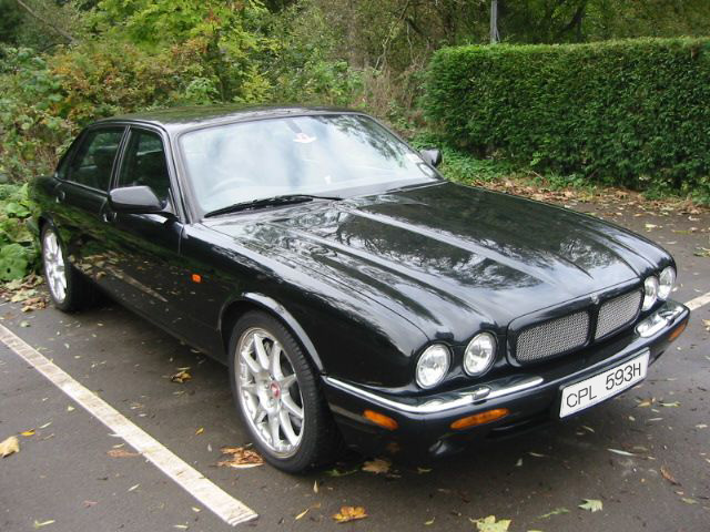 Ferry's iconic black jag with CPL 593H numberplate - bidding on eBay now up to 90,000 quid