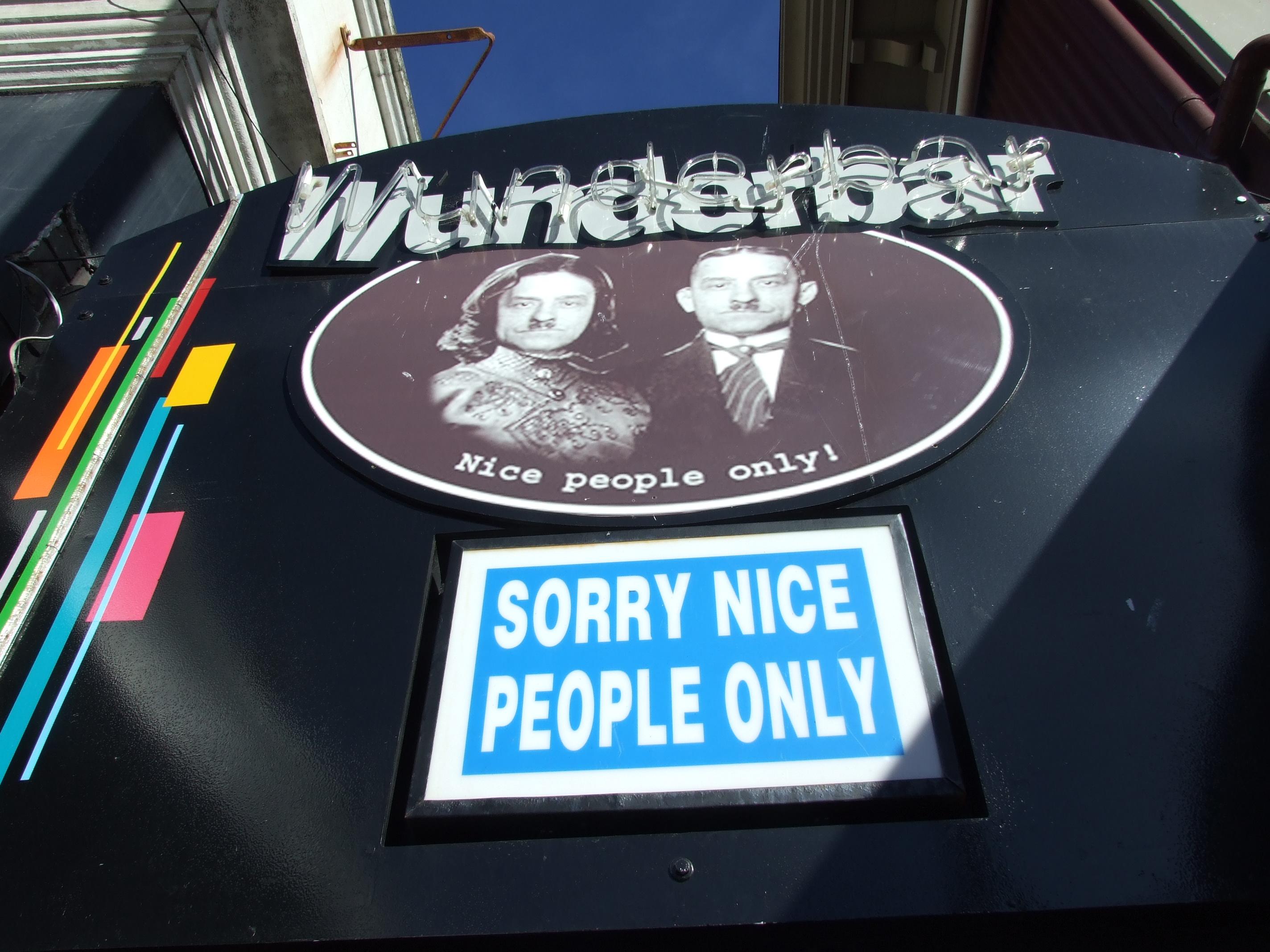 Wunderbar - Nice People Only
