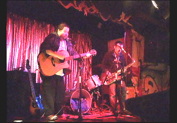 Creaky Back Stairs - Little Stevie McCabe Live at Wunderbar feat. MattMiddleton