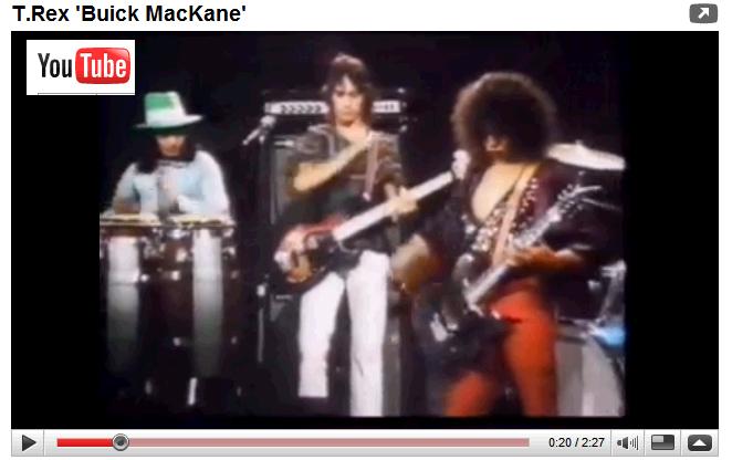T Rex - Buick MacKane - the original